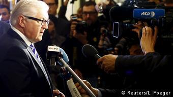 Außenminister Steinmeier in Wien (Foto: Reuters)