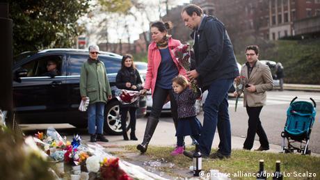 Frankreich Paris Anschlag Gedenken Washington