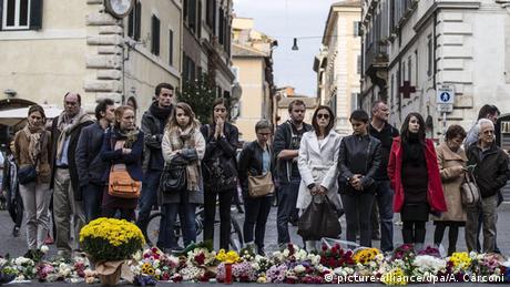 Frankreich Paris Anschlag Gedenken Rom