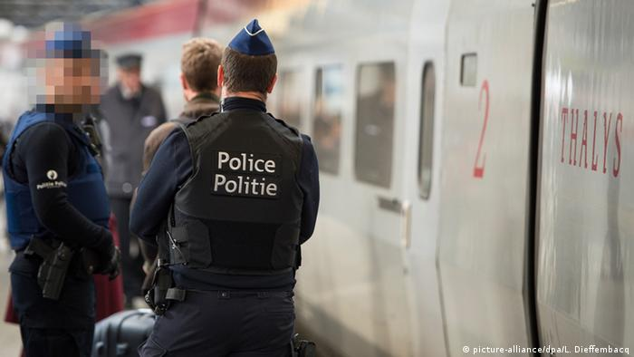 Symbolbild Polizei Belgien