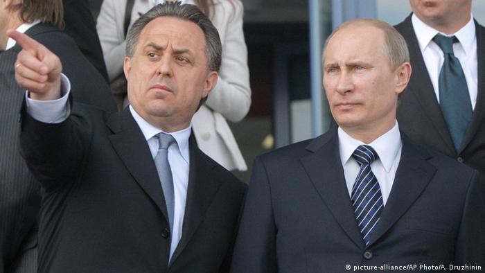 Russland Putin und Mutko