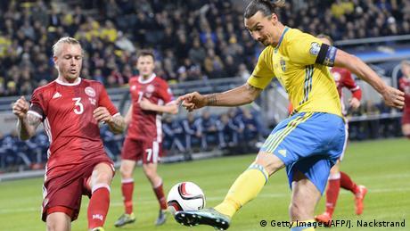 EURO 2016 Qualifikation Schweden Dänemark