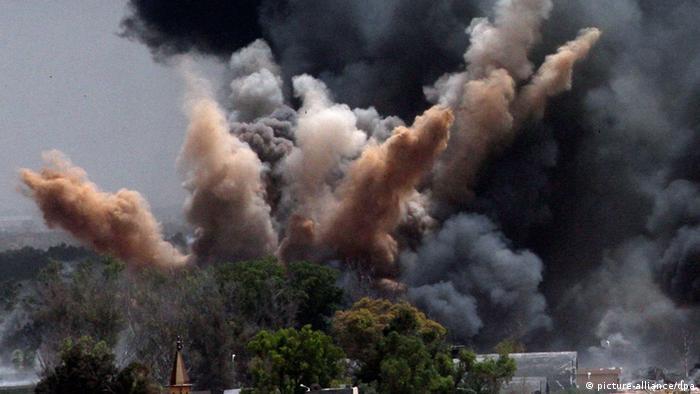 Symbolbild Luftangriff Libyen