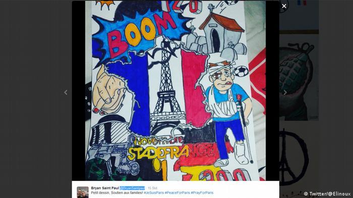 #JeSuisParis dessin