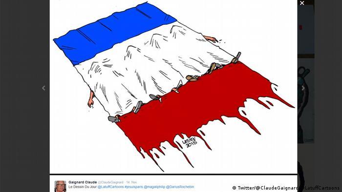 #JeSuisParis