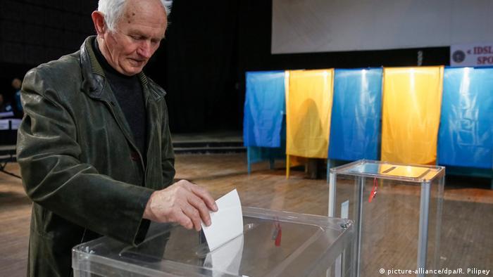 Вибори в Україні (фото з архіву)