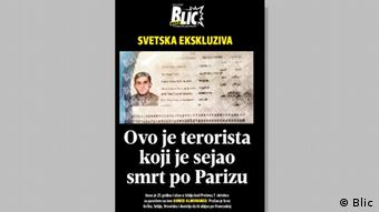 Screenshot Blic Online Ahmed Almuhamed