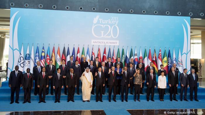G-20-Gipfel in Antalya - Gruppenbild