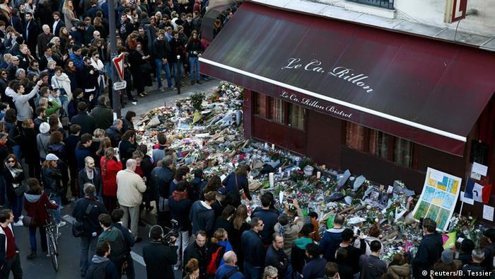 Frankreich Paris Terroranschläge Trauer