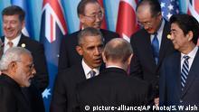 G-20-Gipfel in Antalya Obama und Putin