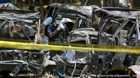 Bali Anschlag Autobombe