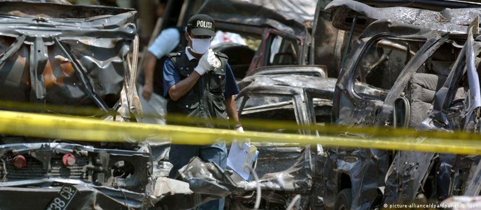 Potret pasca kejadian bom Bali