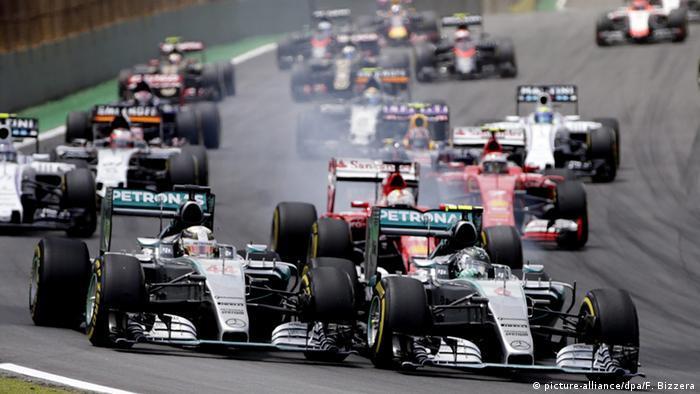 Brasilien Formel 1 in Sao Paulo