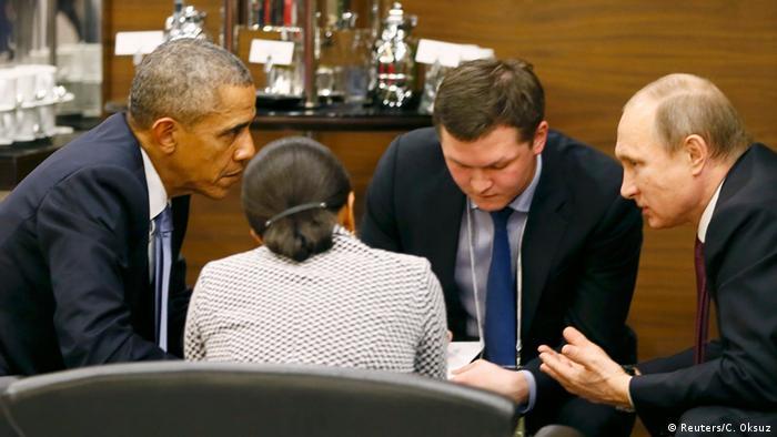 Obama y Putin apoyan negociaciones de paz en Siria