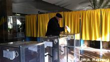 Ukraine Wahlen in Dnipropetrovsk