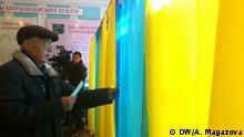15.11.2015 Die Autorin der Fotos ist DW-Korrespondentin Anastasia Magazova. Kommunale Wahlen in der Ukraine, in der Stadt Dnipropetrovsk. Copyright: DW/A. Magazova