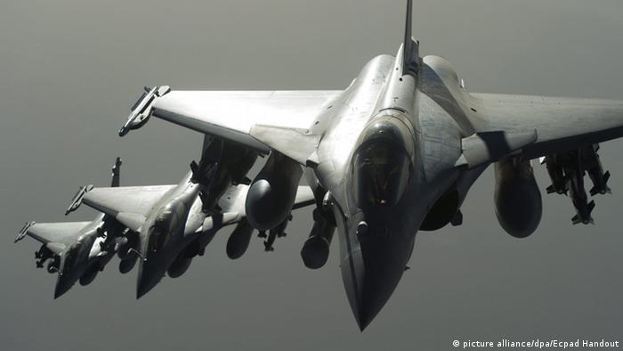 Греція планує придбати 18 французьких винищувачів Rafale