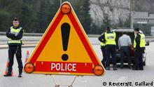 Frankreich Grenzkontrolle nach Terroranschlägen in Paris
