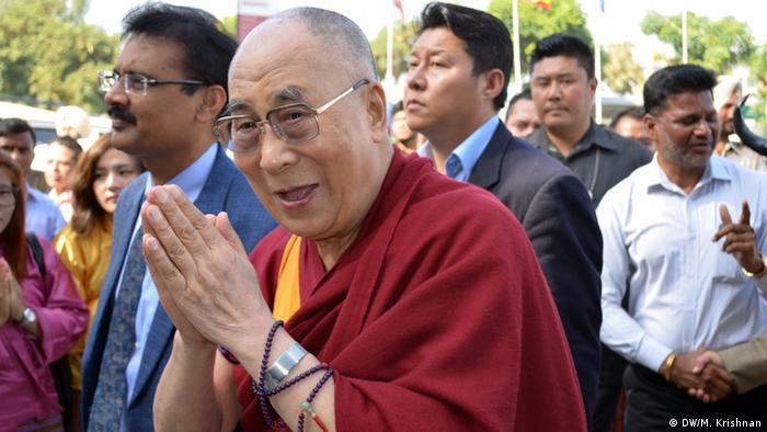 Indien Dalai Lama in Jalandhar
