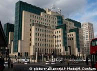 Здание МИ-6 в Лондоне