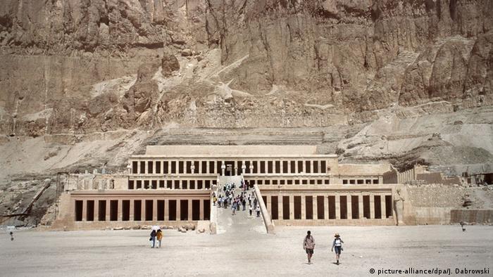 Ägypten Luxor Hatschepsut-Tempel Schauplatz Terroranschlag 1997