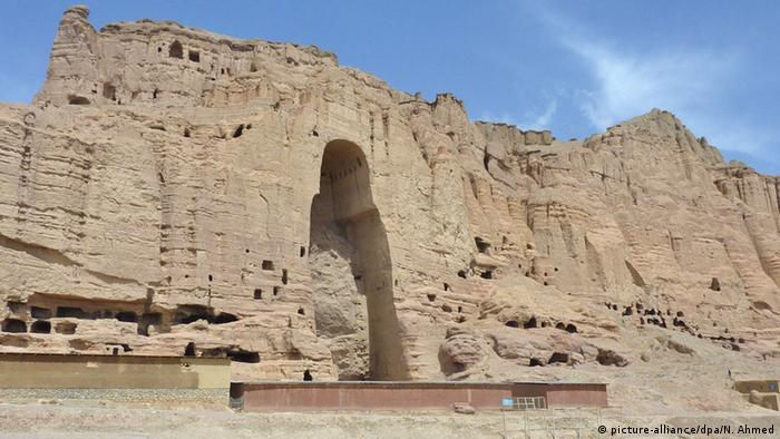 Afghanistan Bamiyan Buddha-Relikte (picture-alliance/dpa/N. Ahmed)