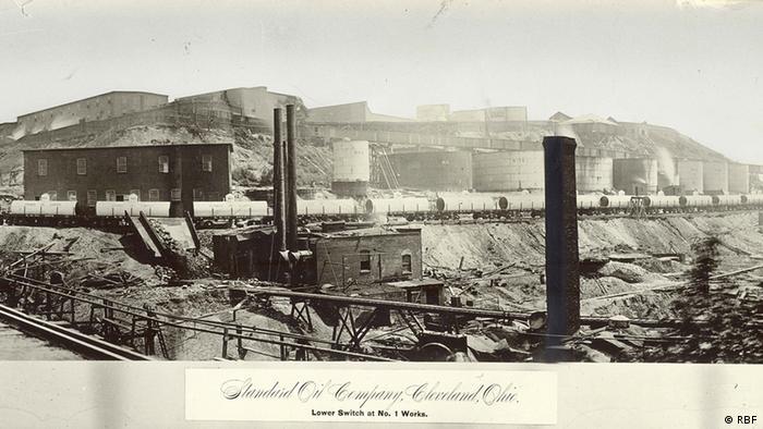 Fabrik Standard Öl Raffinerie John D. Rockefeller