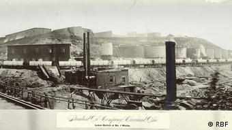 Rockefeller's Standard Oil Photo: Rockefeller Archive Center