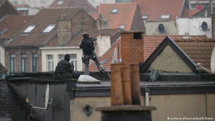 Brüssel Belgien Molenbeek Razzia Anti Terror Einsatz