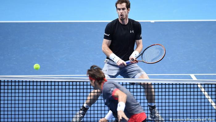 Andy Murray gegen David Ferrer (Foto: picture-alliance/dpa/A. Rain)
