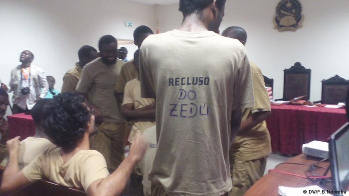 Prozessauftakt von 17 Aktivisten in Luanda