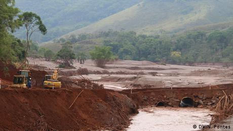 Brasilien Dammbruch in Mariana