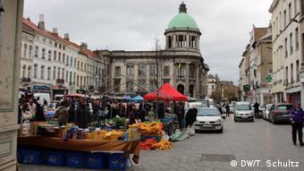 Belgien Brüssel Stadtteil Molenbeek nach Terroranschlägen in Paris