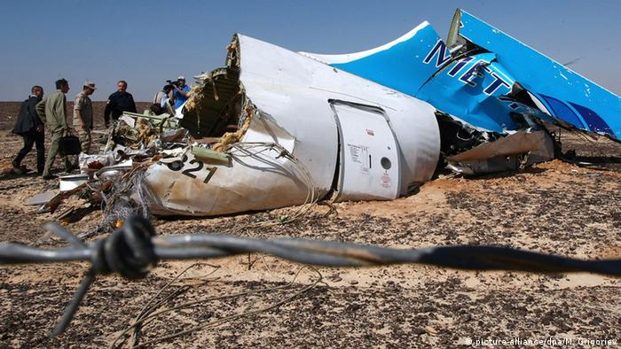 Egypt, Metrojet Flight 9268, Sharm el-Sheikh, Islamic State (picture-alliance/dpa/M. Grigoriev)