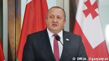 Georgien Präsident Georgi Margwelaschwili