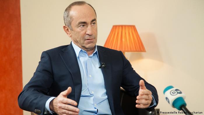 Арестован экс-президент Армении Роберт Кочарян | Новости из Германии о  Европе | DW | 27.07.2018