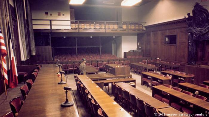 Так выглядит сегодня зал 600, где проходил Нюрнбергский процесс. Это часть музейной экспозиции