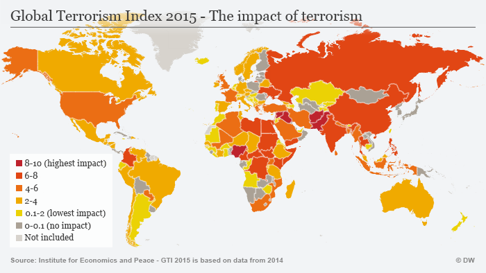 Infografik Terror-Index 2015 Englisch