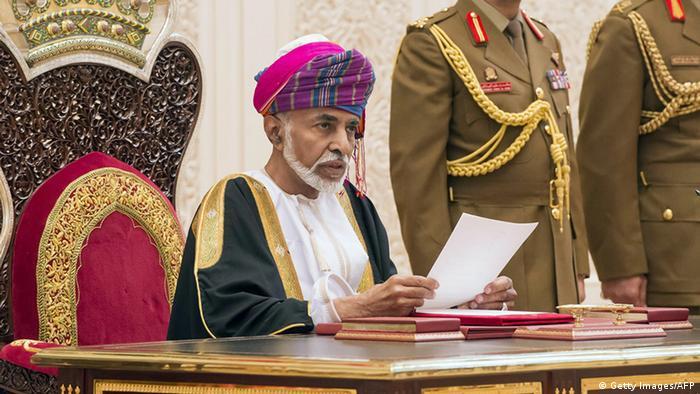 Oman Sultan Qaboos bin Said