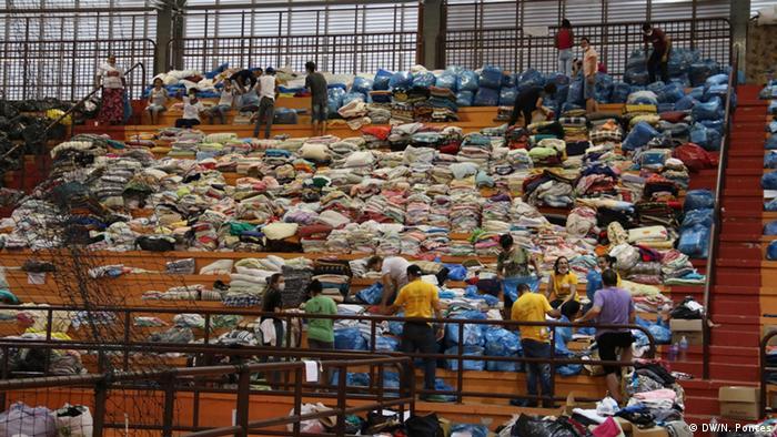 Brasilien Umwelt-Tragödie bei Mariana