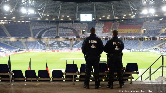 Absage Fußball Länderspiel Deutschland Niederlande