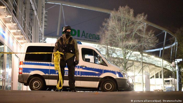 Police van in Hannover