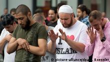Deutschland Salafisten in Frankfurt/Main