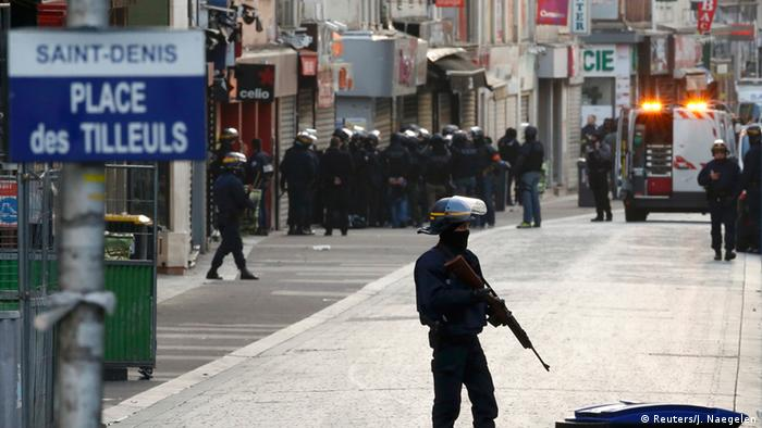 Frankreich Schießerei bei Polizeiaktion in Saint-Denis Paris