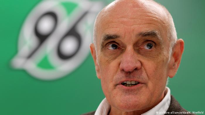 Martin Kind, president of Hannover 96 (picture-alliance/dpa/K. Nietfeld)