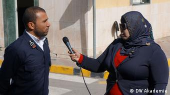 LCNA Libyan Cloud News Agency (Photo DW)
