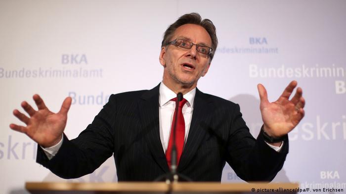 Holger Münch spricht auf der BKA-Herbsttagung (Foto: dpa)