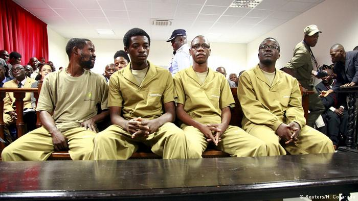 Court proceedings against activists in Angola Copyright: REUTERS / Herculano Corarado