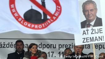 Tschechien Milos Zeman anti-islam Rede in Prag
