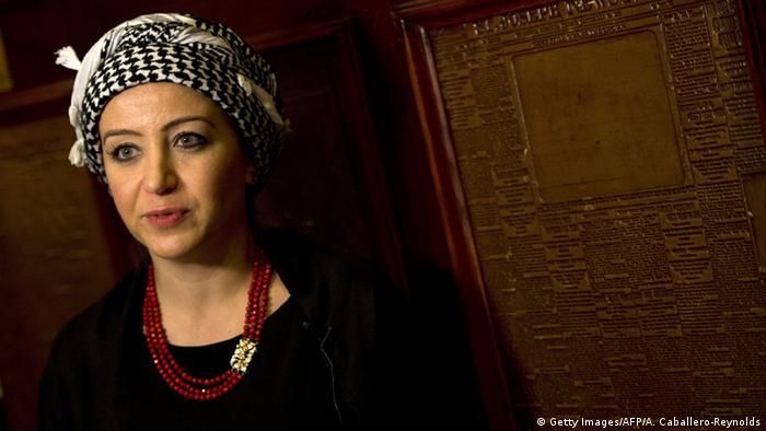 Syrische Journalistin Zaina Erhaim